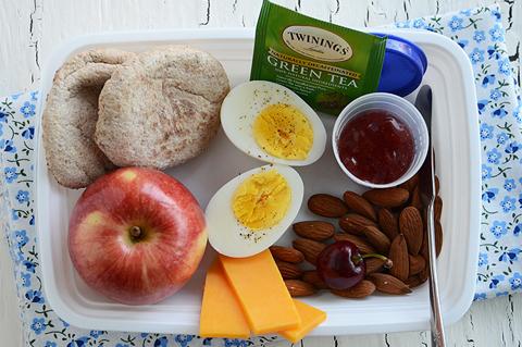 hard boiled egg travel lunch box