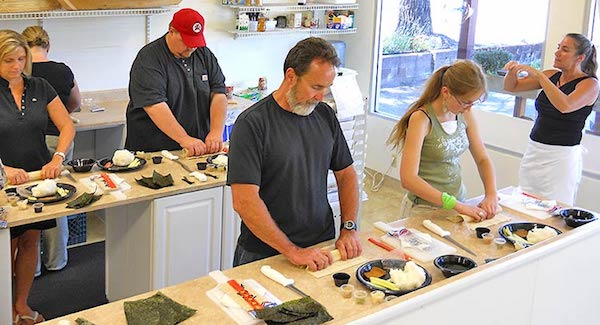 join classes - sushi classes while traveling