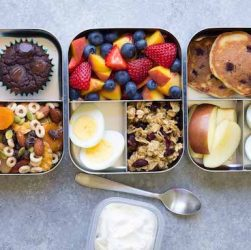 bring your own healthy travel food - lunchbox