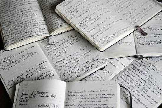 notebooks - written