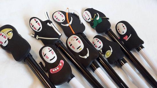 spirited away pens