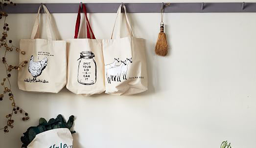 totebags display