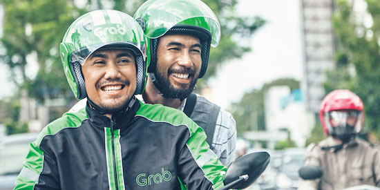 Grab ride in indonesia airport transfer