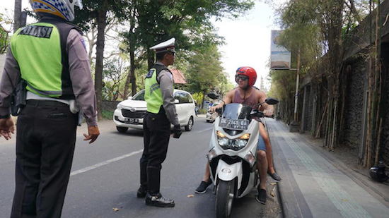 bali police officers