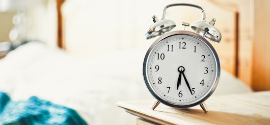 clock and sleep