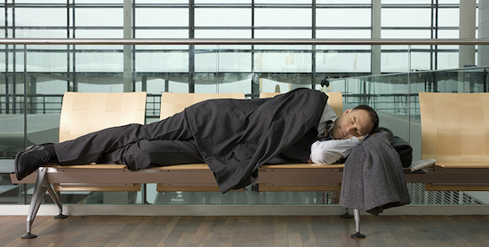 staying healthy while traveling get enough sleep