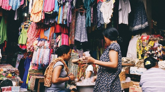 locals in bali - stores
