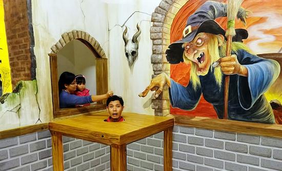 seminyak family fun trick art museum