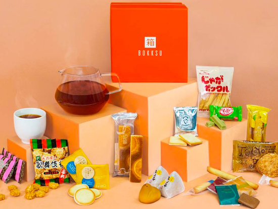 bokksu subscription japanese sweets gifts