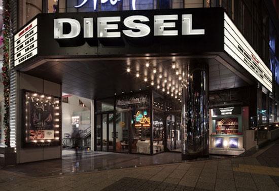 diesel store in shibuya