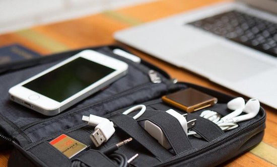 electronics during travel