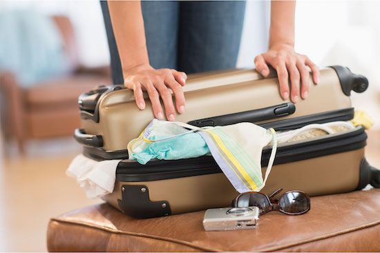 overpacking is every traveler's sin