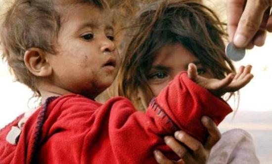 stop giving to a child begging