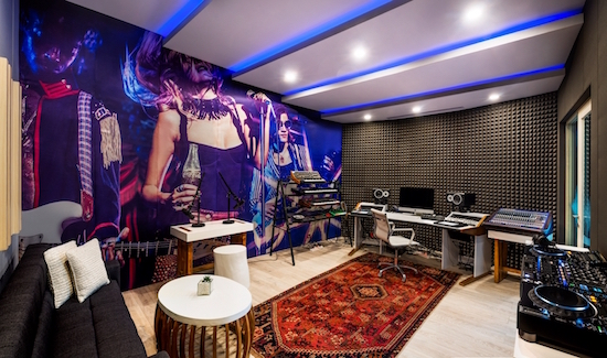 the W Bali sound suites