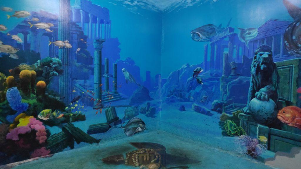 Underwater Life Painting in DMZ
