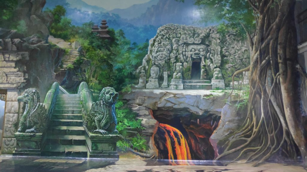 Road to Temple Painting in DMZ