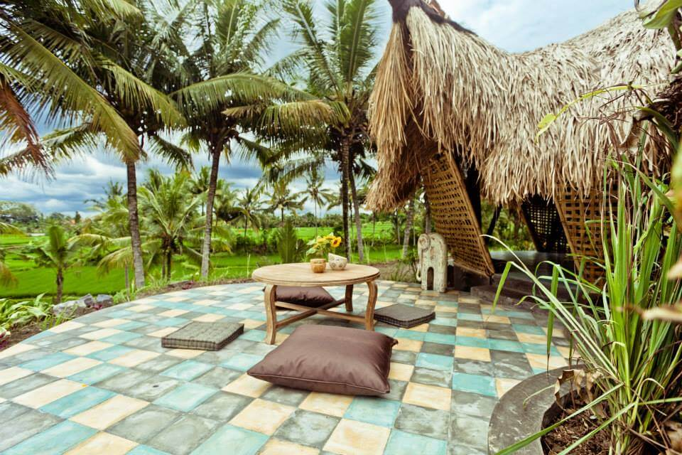 The hut on Firefly resort, a great place for yoga