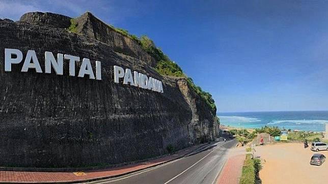 Pantai Pandawa Name Sign