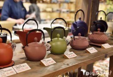 travel souvenir - japanese pots
